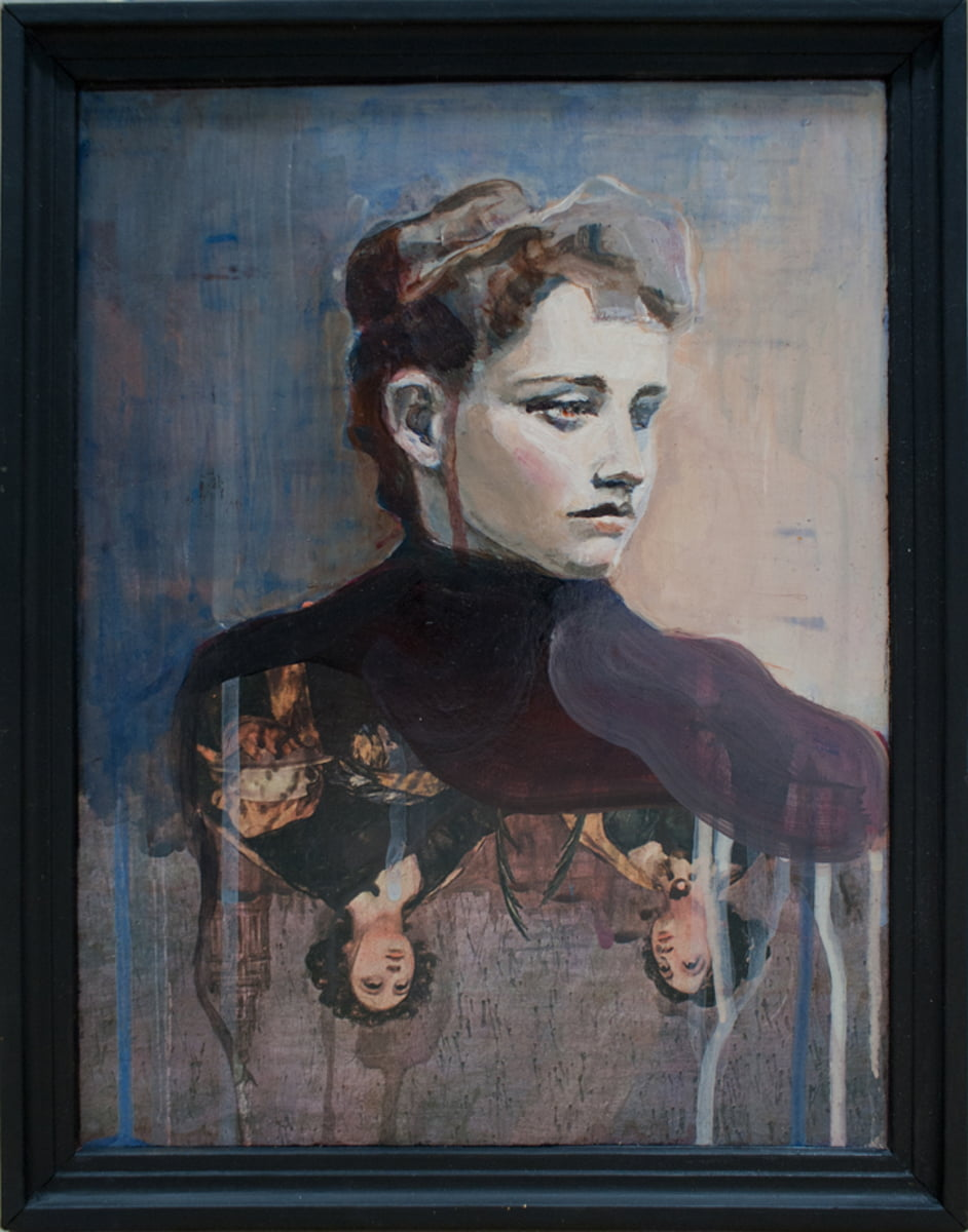 Wiola Stankiewicz Autoportret IV 32,5 cm x 25,5 cm 1000 PLN