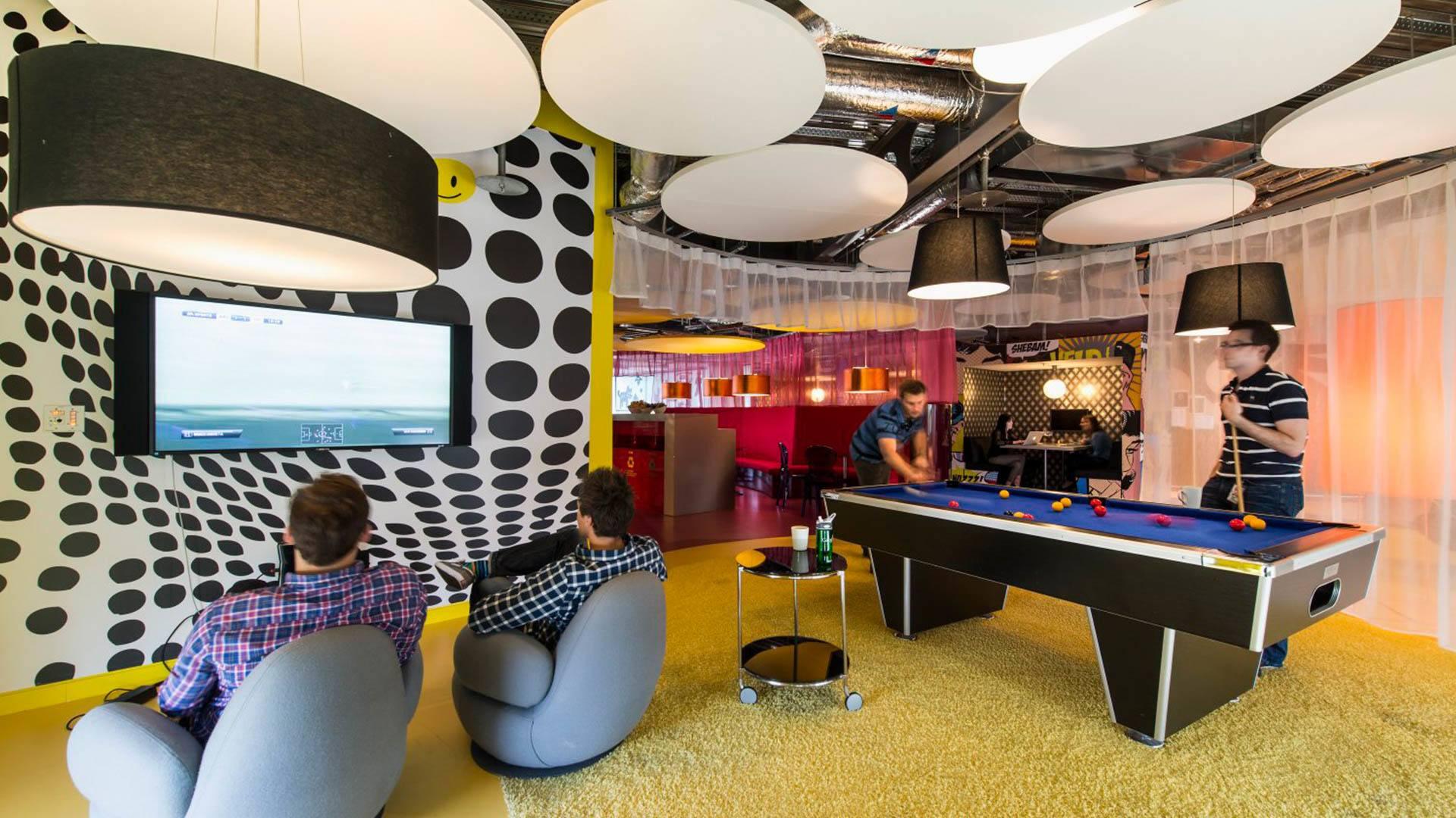 Startup biura