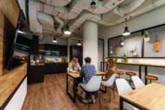 Ciklum Gdańsk - kuchnia w biurze