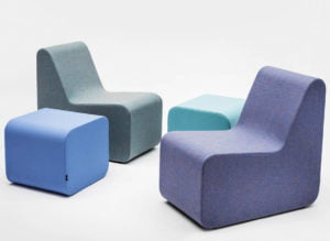 VANK CELOO poufs wool synergy4