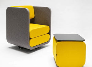 VANK MELLO armchair VANK CELOO table