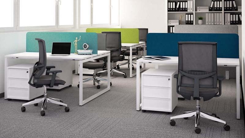 bench desks NOVA O task chairs EVA.II pedestals NOVA 02 1920x1080 1