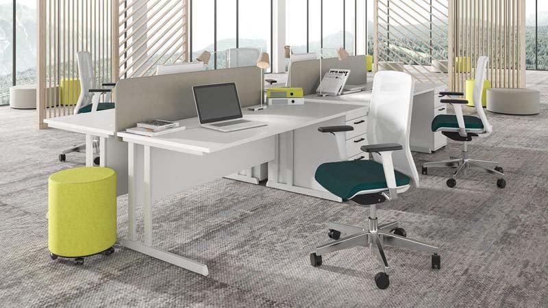 desks OPTIMA C task chairs WIND pedestals OPTIMA 1920x1080 1
